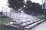 10 Row Bleachers
