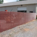 6ft Galvanized Chain Link with Privacy Slats-Commercial